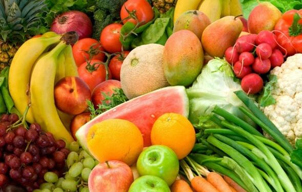 fruits and vegetables for weight loss